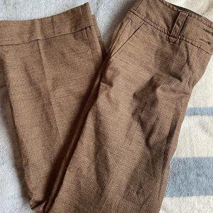 Brown tweed trousers